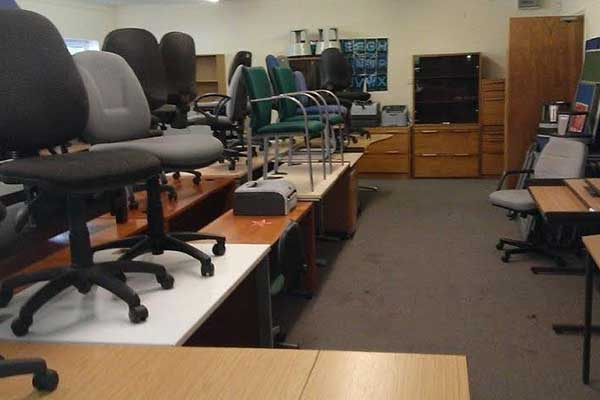 Office Furniture disposal and Recycling